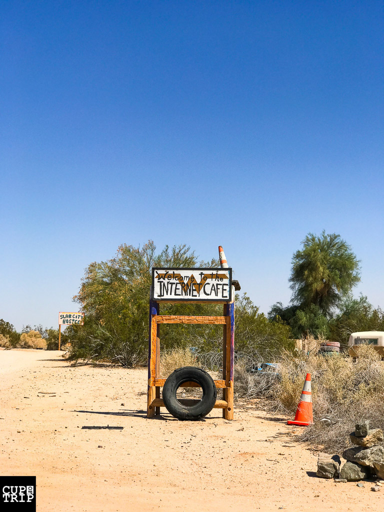 Slab City Internet Cafe