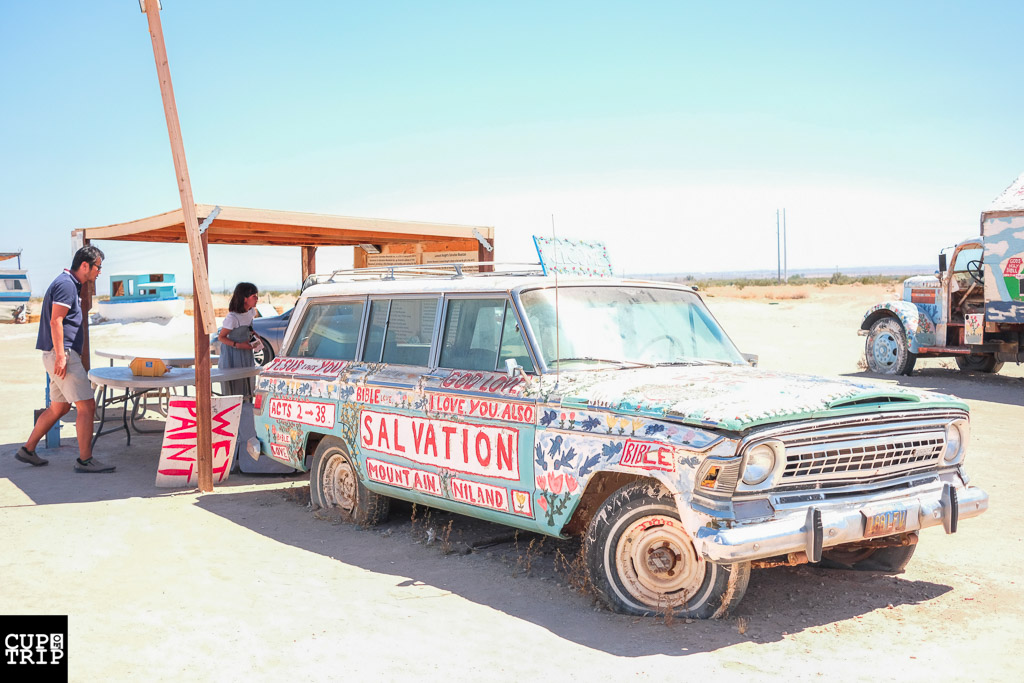 کوه نجات Salvation Mountain