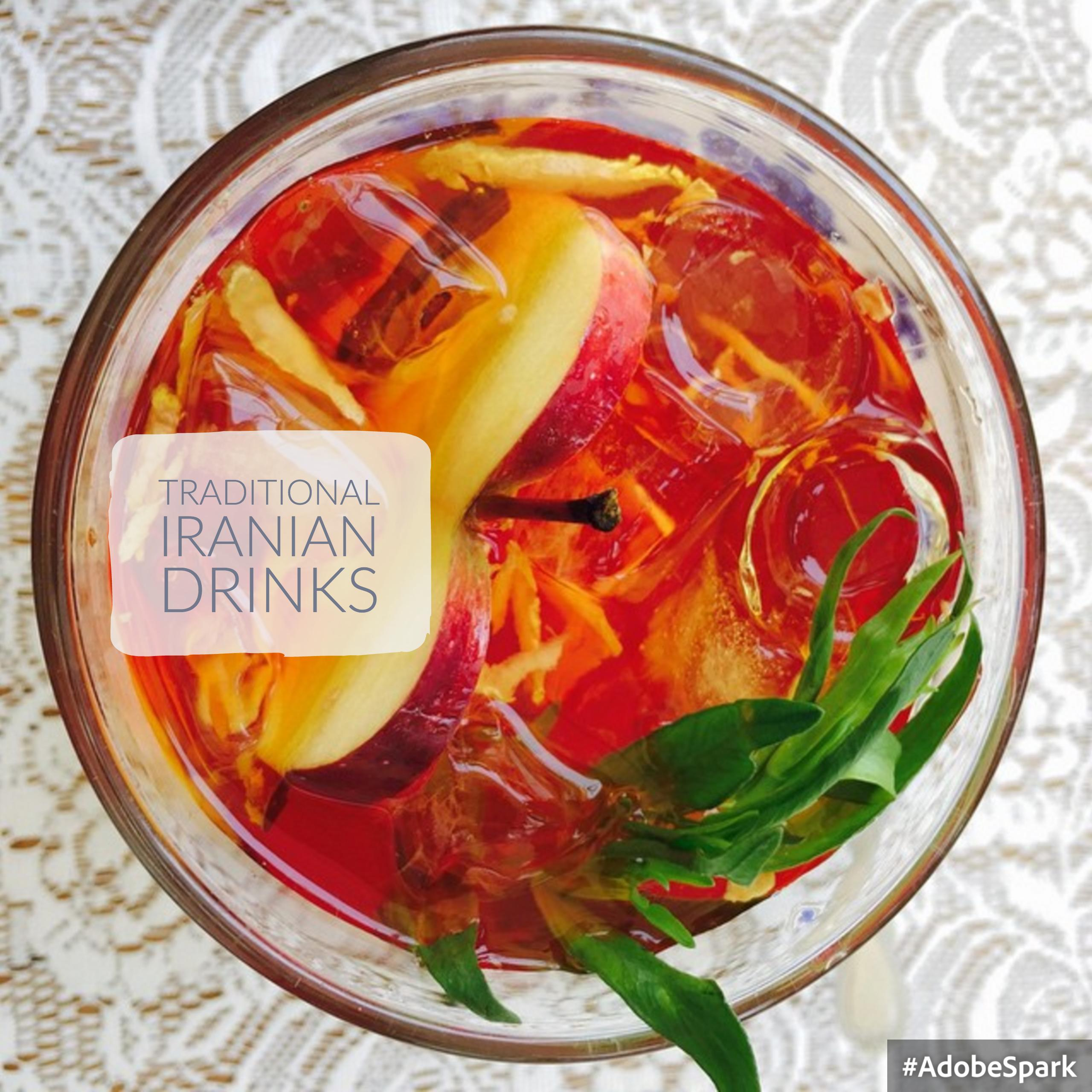 Kashhan and Iranian Traditional Drinks